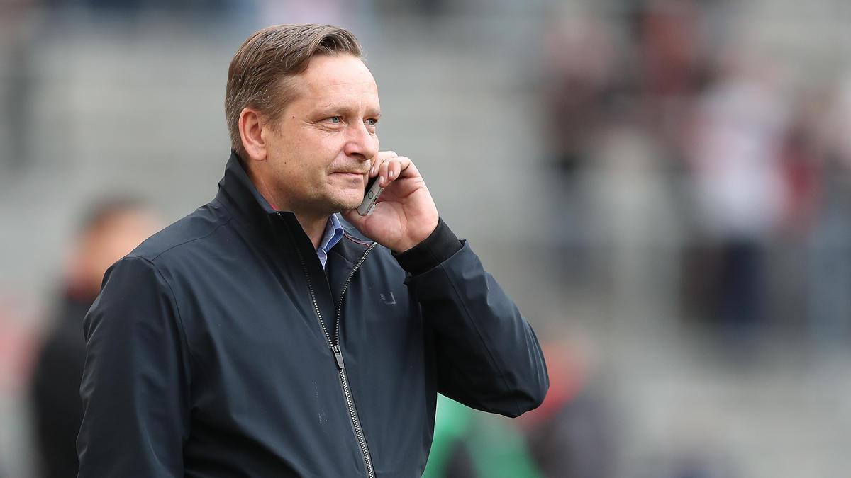 Horst Heldt und S04-Aufsichtsratschef Clemens Tönnies sind weiterhin befreundet