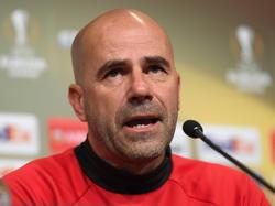 El entrenador holandés Peter Bosz. (Foto: Getty)