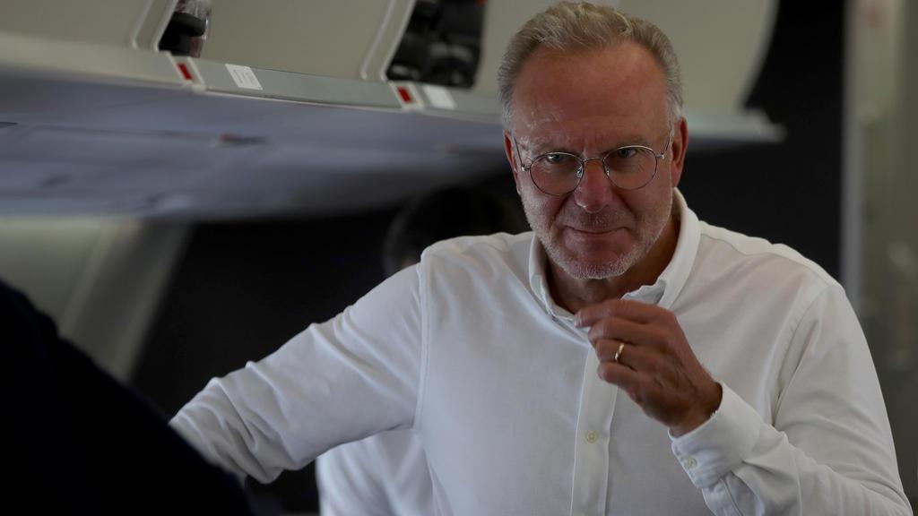 Karl-Heinz Rummenigge spricht über Transfer-Pläne des FC Bayern