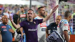 Franck Ribéry wurde von den Fans gefeiert