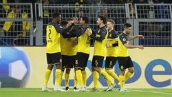 Der BVB steht im Achtelfinale der Champions League