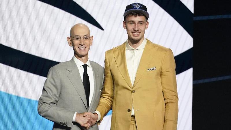 Franz Wagner spielt künftig für die Orlando Magic in der NBA