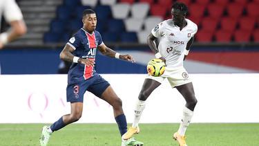 Ibrahima Niane (r.), hier im Duell mit PSG-Star Presnel Kimpembe