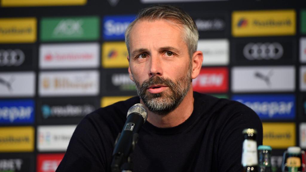 Marco Rose trifft mit Gladbach auf die TSG Hoffenheim