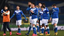 Brescia-Akteure nach dem Napoli-Spiel