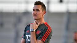 Miroslav Klose könnte Co-Trainer von Hansi Flick beim FC Bayern werden