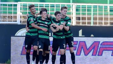 Preußen Münster setzte sich gegen den FSV Zwickau durch