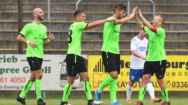 Union Fürstenwalde wird beim VfL Wolfsburg spielen