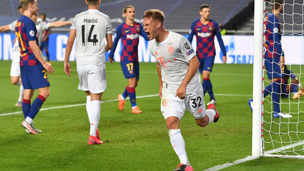 Das 8:2 des FC Bayern gegen Barcelona wird noch lange in Erinnerung bleiben