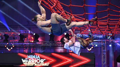 Bei Ninja Warrior Germany Allstars geht's ins direkte Duell