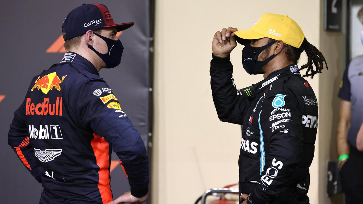 MaxVerstappen (l.) und Lewis Hamilton (r.) dominieren die Formel 1