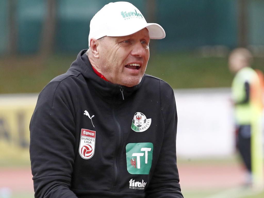 WSG-Coach Silberberger will mutig gegen Salzburg auftreten