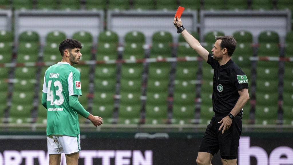 Eren Dinkci von Werder Bremen wurde gesperrt
