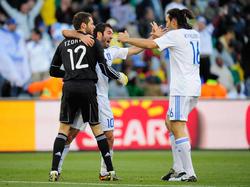 WM 2010: Freude bei den Griechen
