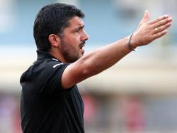 Gennaro Gattuso feiert seinen ersten Erfolg als Trainer