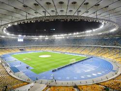 Imagen aérea del estadio Olímpico de Kiev. (Foto: Getty)