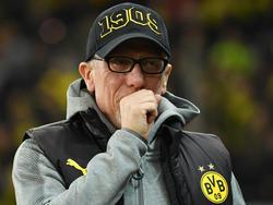 Peter Stöger erlebte mit dem BVB ein Debakel