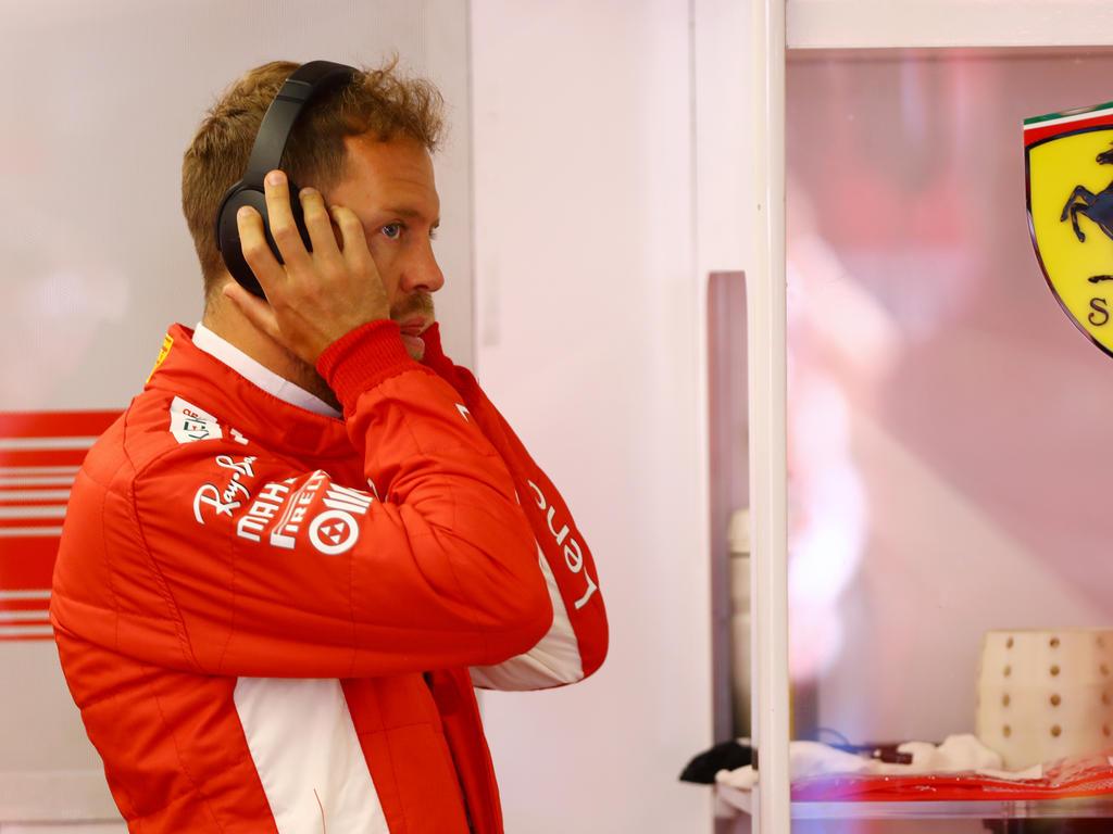 Vettel muss sich erst an die Strecke in Frankreich gewöhnen