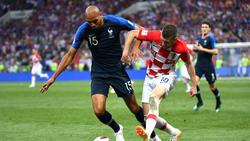 N'Zonzi lieferte sich bei der WM packende Duelle mit Kroatiens Ante Rebic