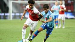 Reiss Nelson vs. Roberto Olabe...