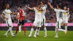 Die Borussia aus Mönchengladbach nahm drei Punkte aus München mit