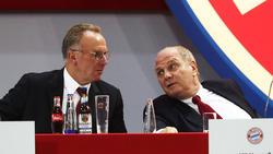 Karl-Heinz-Rummenigge und Uli Hoeneß werden für ihre Transferpolitik kritisiert