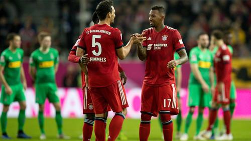 Duell um den Stammplatz beim FC Bayern: Mats Hummels undJérôme Boateng
