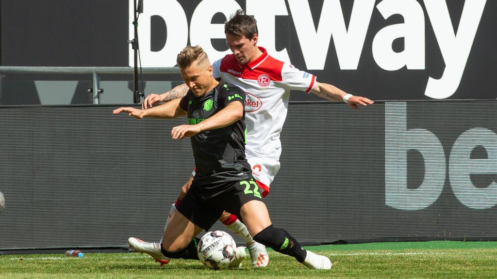 Hannover 96 musste sich Fortuna Düsseldorf geschlagen geben
