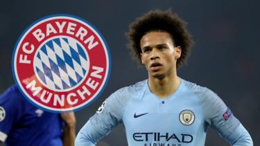 Leroy Sané kann sich einen Wechsel zum FC Bayern offenbar doch vorstellen