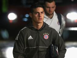 James Rodríguez juega actualmente en el Bayern. (Foto: Getty)