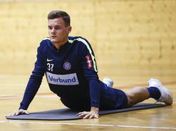 Stefan Stangl will sich bei der Austria wieder sportlich aufrichten