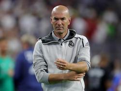 Zidane en el duelo contra el Bayern.