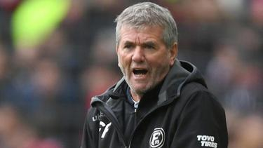 Verlor den zweiten Test mit Fortuna Düsseldorf gegen SD Eibar: Trainer Friedhelm Funkel