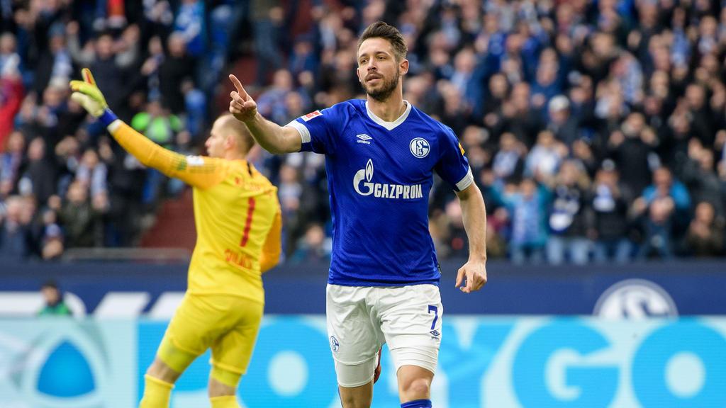 Mark Uth stürmt für den FC Schalke 04