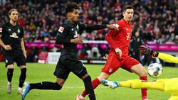 Längere Pause für Bremens Gebre Selassie (m.)