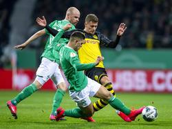 Werder Bremen gewann den Pokalfight gegen Borussia Dortmund