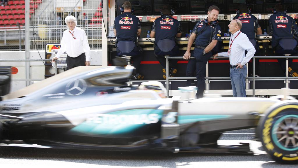 Christian Horner glaubt nicht an einen Mercedes-Abgang von Lewis Hamilton