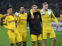 Hier soll am Samstag wieder Bundesliga-Fußball gespielt werden