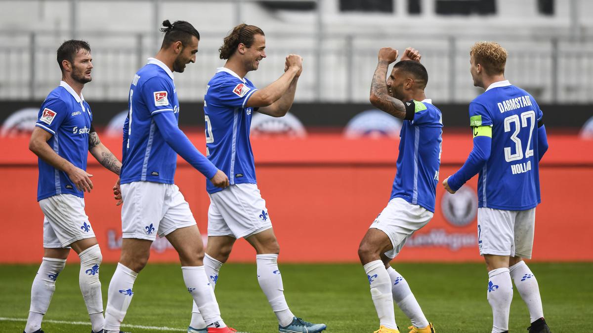 Darmstadt setzte sich gegen St. Pauli durch