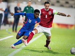 Trotz einer starken Leistung reichte es zu keinem Punkt für die ÖFB-U21-Auswahl