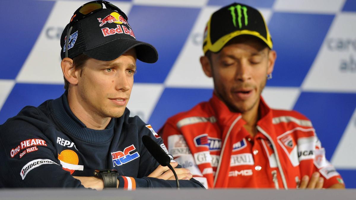 Einst MotoGP-Rivale von Valentino Rossi: Casey Stoner