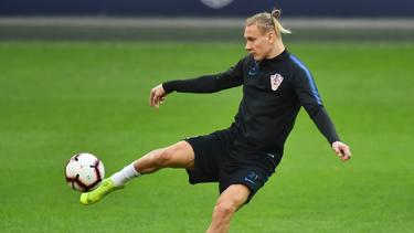 Domagoj Vida spielte 45 Minuten gegen die Türkei