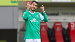 Werders Leonardo Bittencourt plagt sich mit einer Sprunggelenkverletzung herum