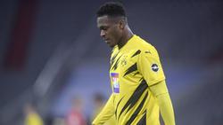 Dan-Axel Zagadou fehlt dem BVB für den Rest der Saison