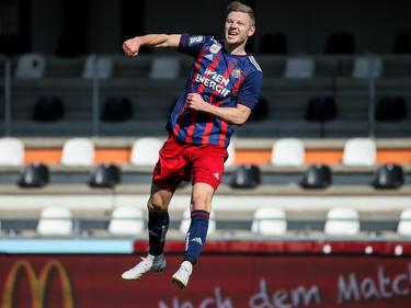 Gegen den Wolfsberger AC konnte Max Ullmann über seinen ersten Bundesliga-Treffer jubeln