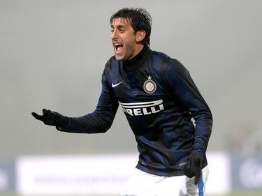 Diego Milito, attaccante dell'Inter