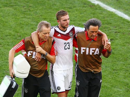 Christoph Kramer hatte sich im WM-Finale 2014 eine schwere Gehirnerschütterung zugezogen