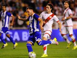 Lucas Pérez (l.) soll für die Gunners stürmen