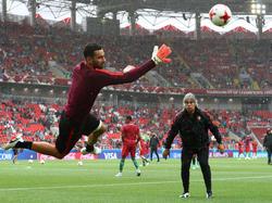 Rui Patricio en un entrenamiento reciente con Portugal. (Foto: Getty)