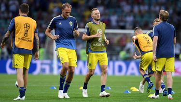 Kein guter Start in den Tag für das schwedische Team